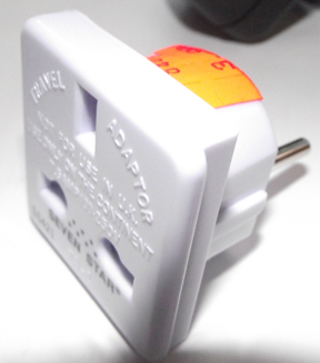 Adapter for UK electrical plugs