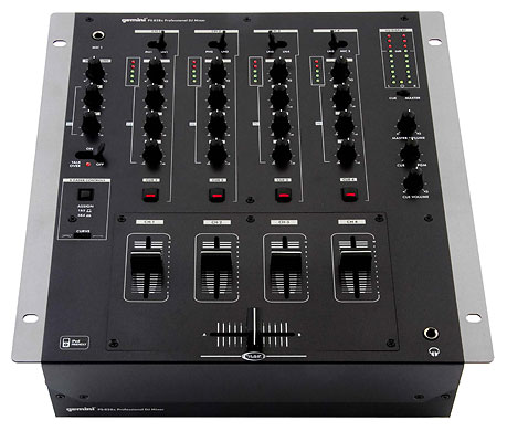 . Gemini PS-626EFX 3-Channel DJ Mixer   .