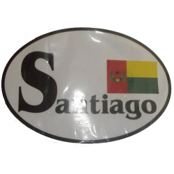 Santiago Historic CV Flag...