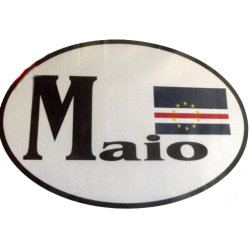 Maio CV Flag Bumper Sticker
