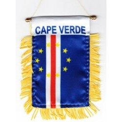 Car Mini flag 	- Cabo Verde...
