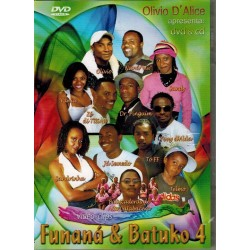 Funana e Batuko 4 dvd+cd